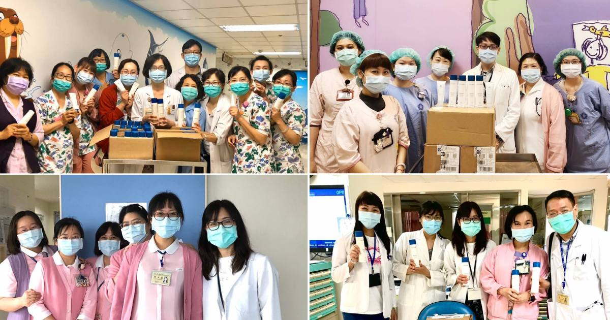 NU SKIN Thanks Frontline Medical Workers in Taiwan for Their All-out Efforts